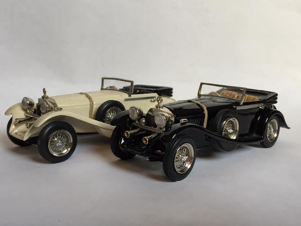 1929 Mercedes Ssk Roadster Open Roof Sams Model Cars