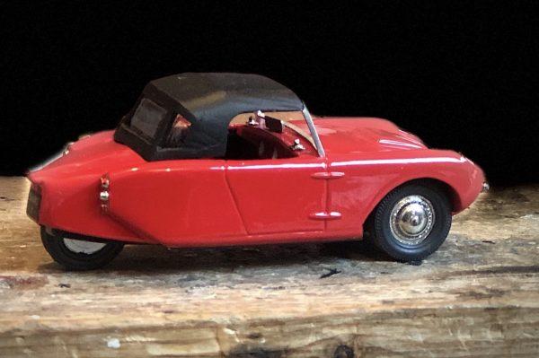 1959 Berkeley T60 Top Up Red