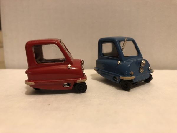 Peel P50 front and side